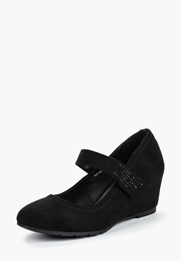 женские туфли zenden woman, черные