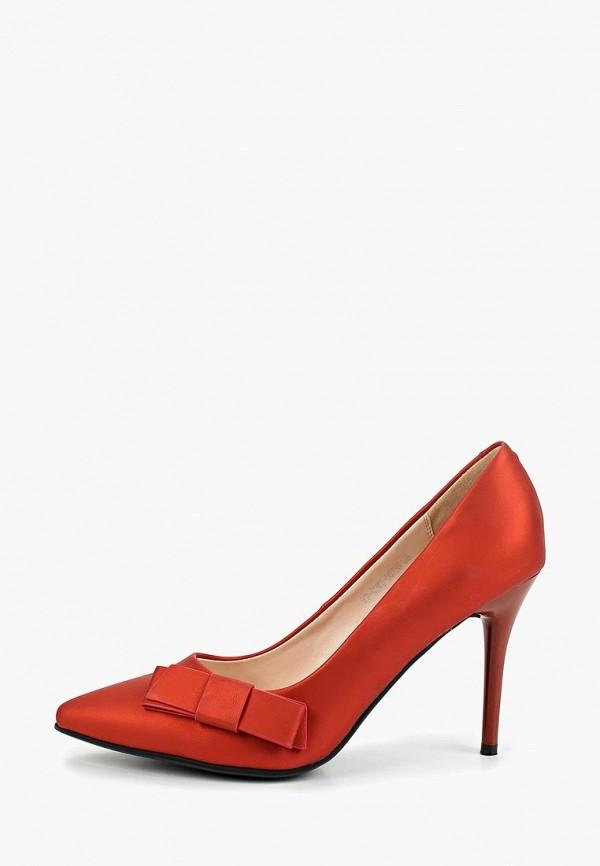 женские туфли zenden woman, красные
