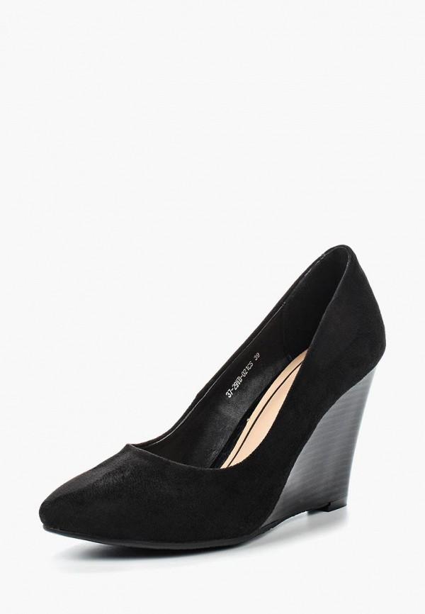 мужские туфли zenden woman, черные