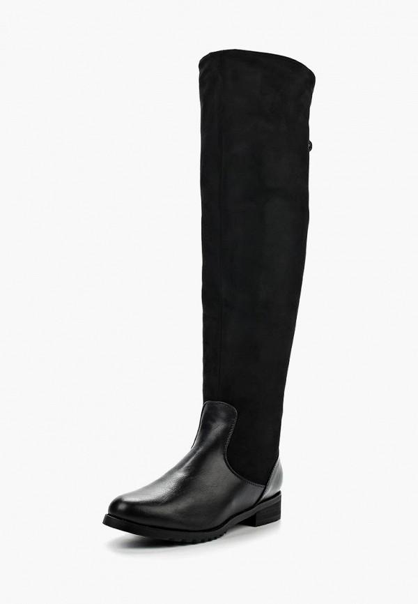 женские ботфорты zenden woman, черные