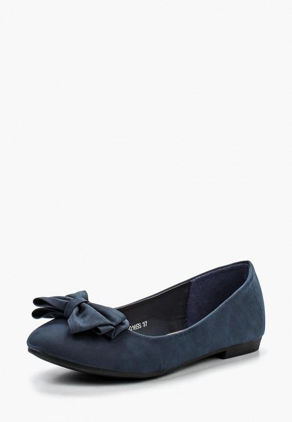Фото 6 - женские балетки Zenden Woman синего цвета