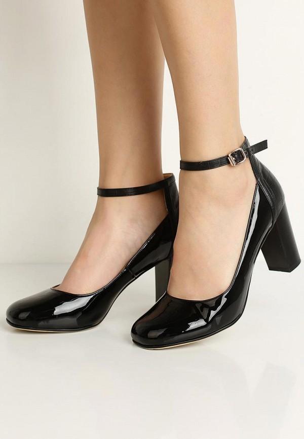 Фото 5 - женские туфли Zenden Woman черного цвета