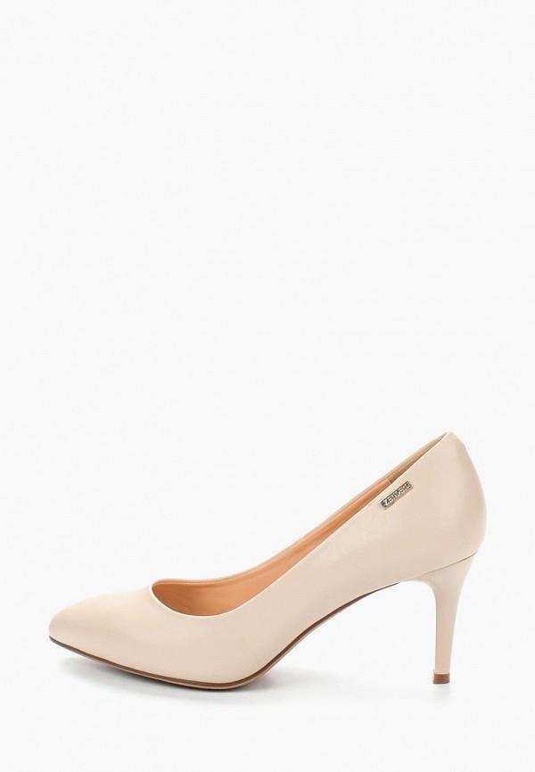 женские туфли zenden woman, бежевые