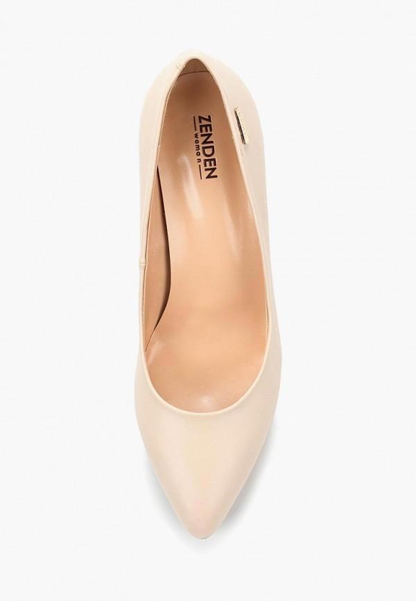 Фото 4 - женские туфли Zenden Woman бежевого цвета
