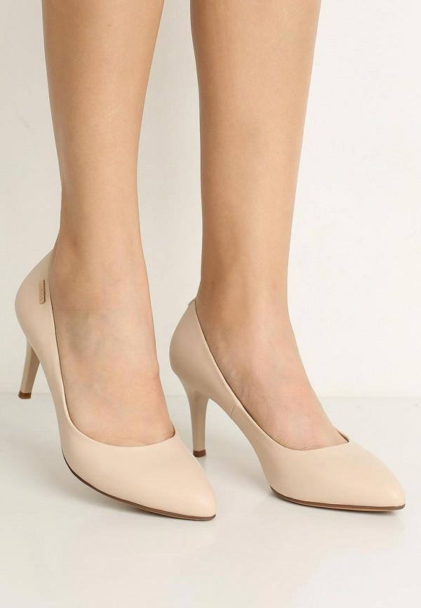 Фото 5 - женские туфли Zenden Woman бежевого цвета