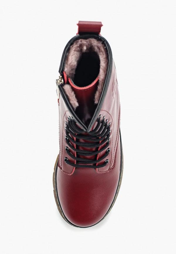 Фото 4 - женские ботинки и полуботинки Zenden Woman бордового цвета
