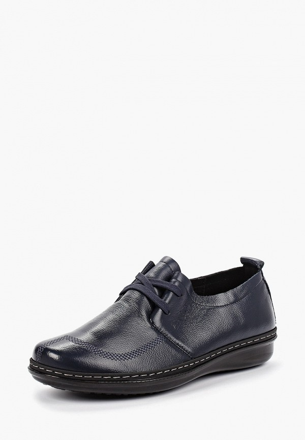 Фото 2 - женские ботинки и полуботинки Zenden Comfort синего цвета