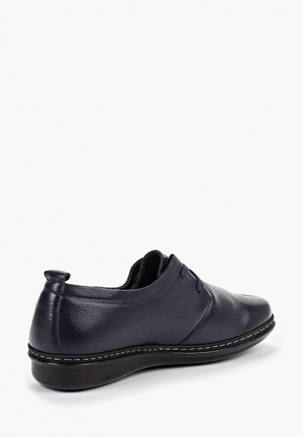 Фото 3 - женские ботинки и полуботинки Zenden Comfort синего цвета
