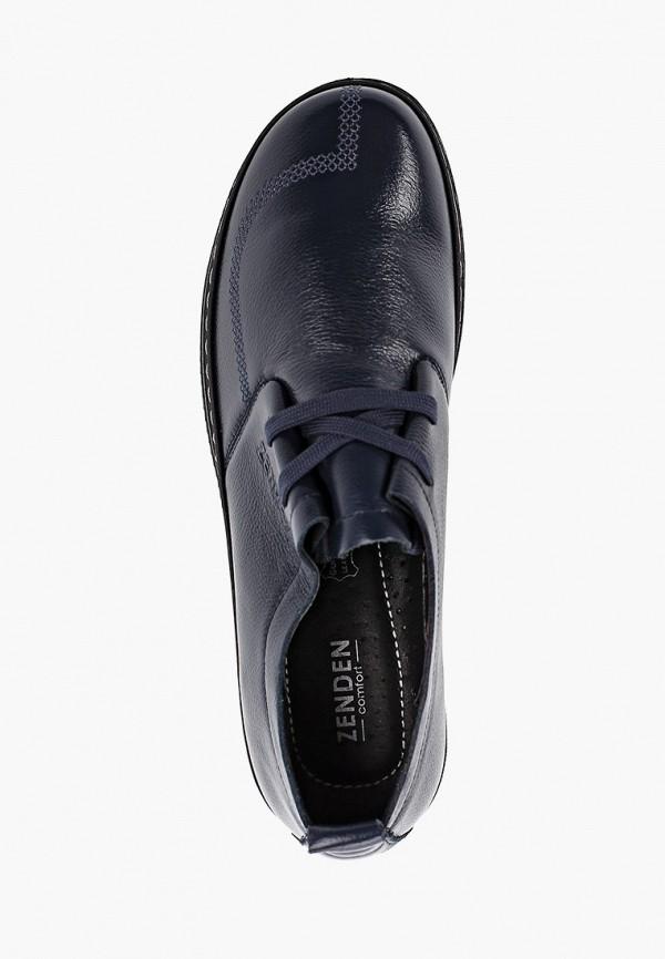 Фото 4 - женские ботинки и полуботинки Zenden Comfort синего цвета