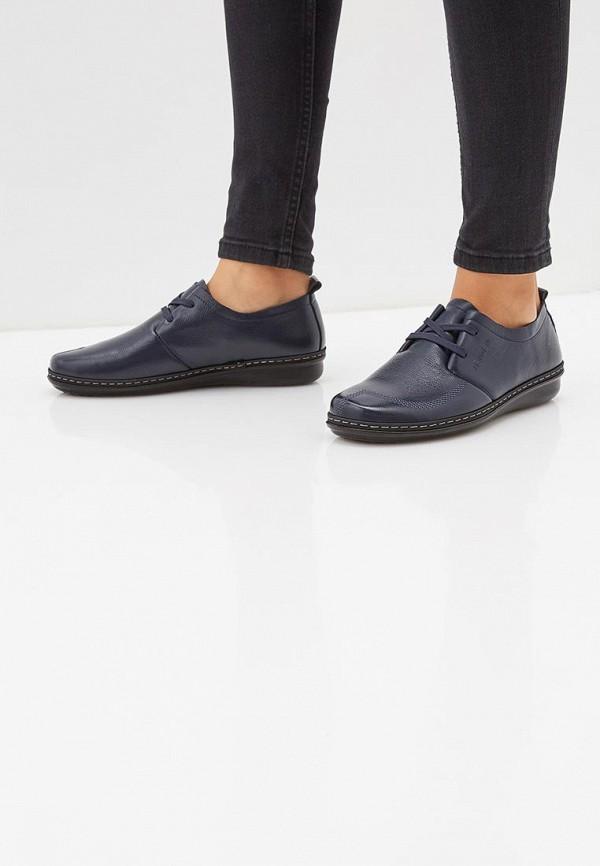 Фото 6 - женские ботинки и полуботинки Zenden Comfort синего цвета