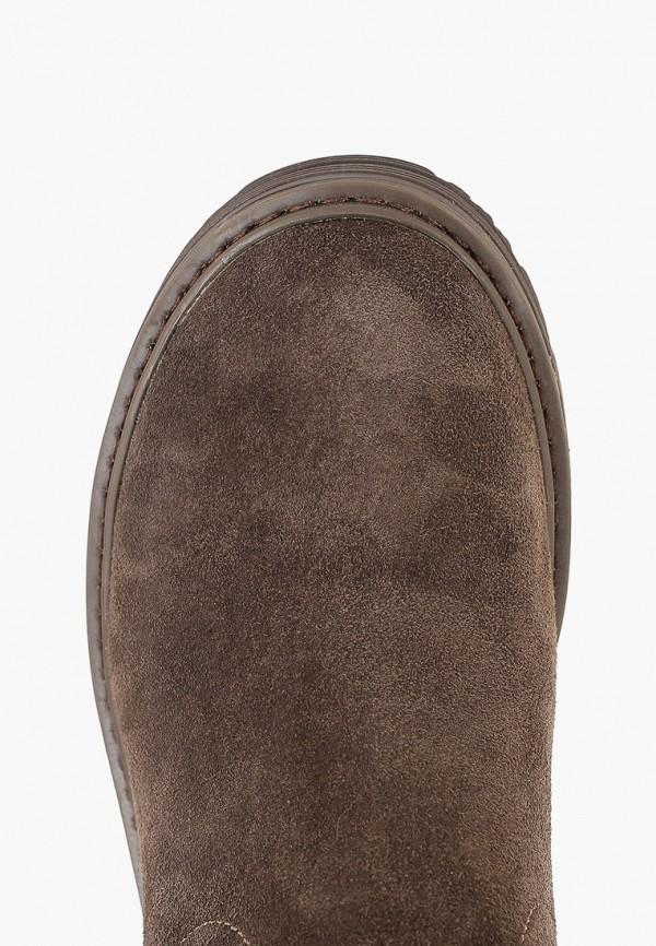 Фото 4 - женские полусапоги Zenden Comfort коричневого цвета
