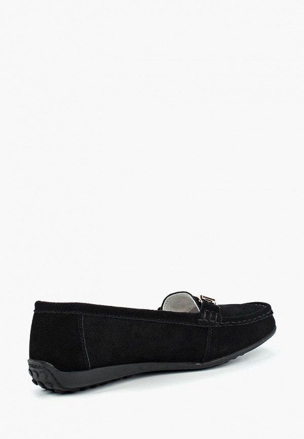 Фото 7 - женские мокасины Zenden Comfort черного цвета