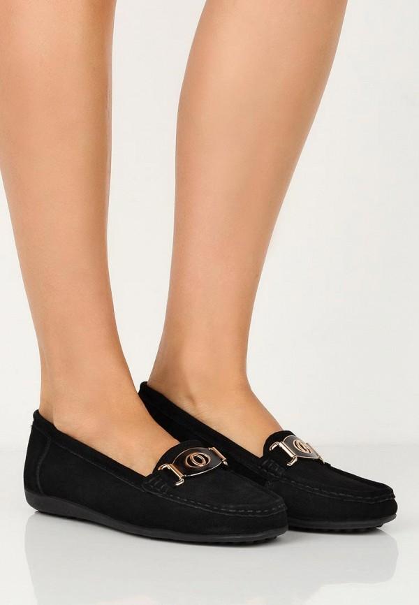 Фото 10 - женские мокасины Zenden Comfort черного цвета