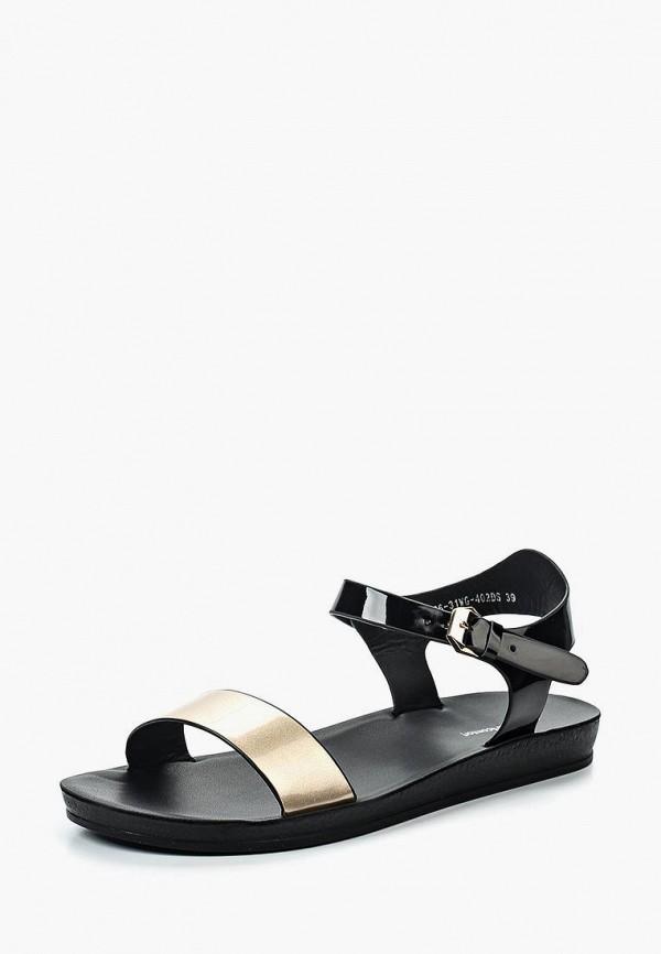 женские сандалии zenden comfort, разноцветные
