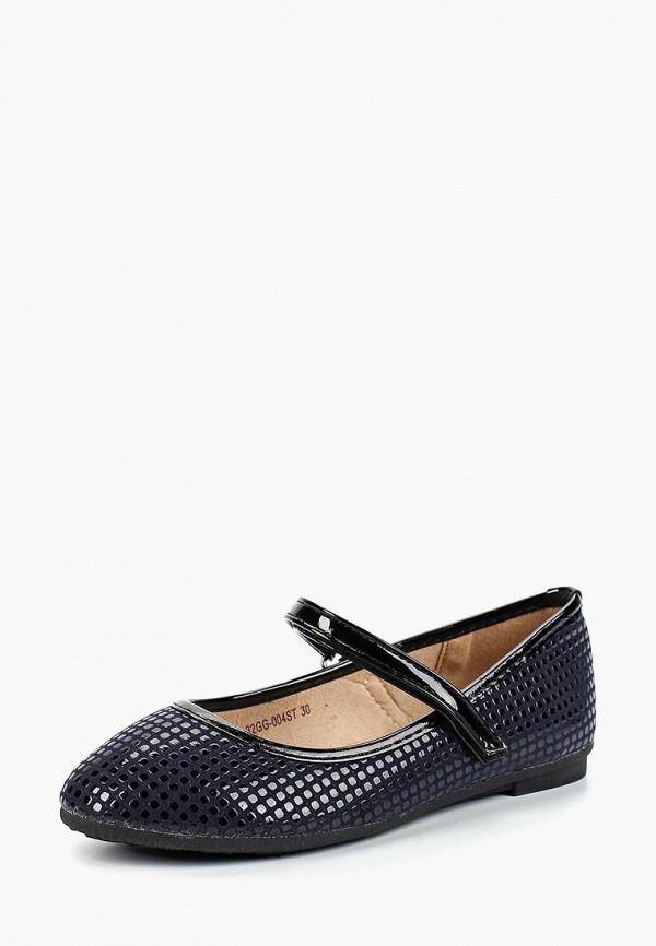 туфли zenden collection для девочки, синие