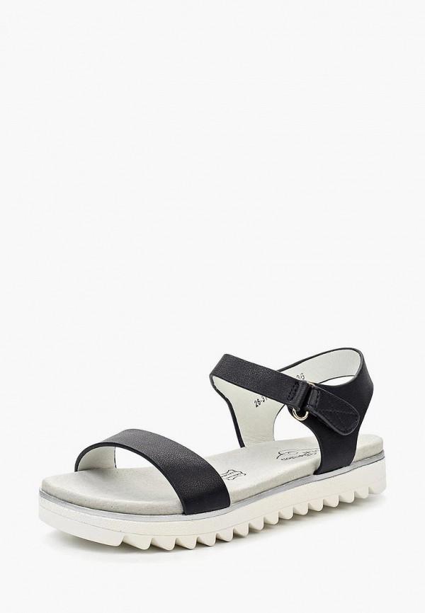 сандалии zenden collection для девочки, черные