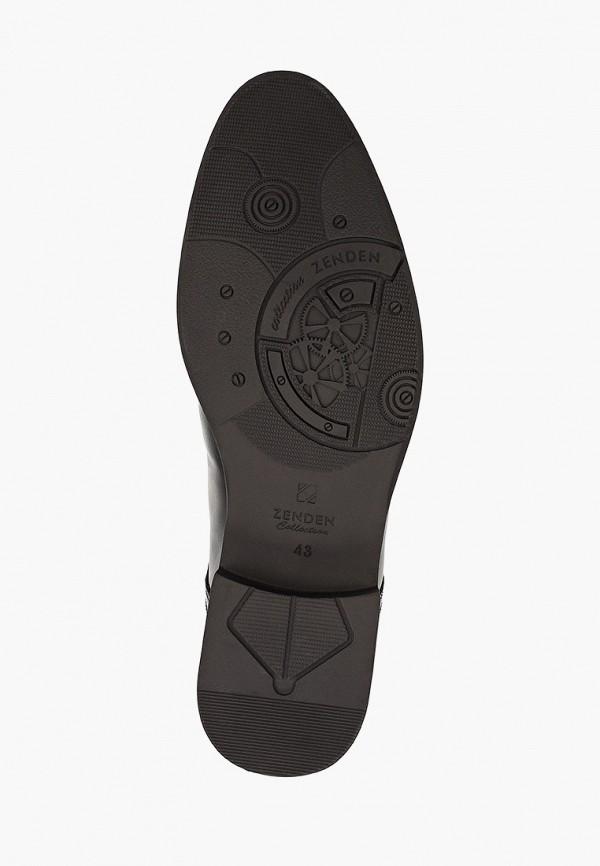 Фото 5 - мужские туфли Zenden Collection черного цвета
