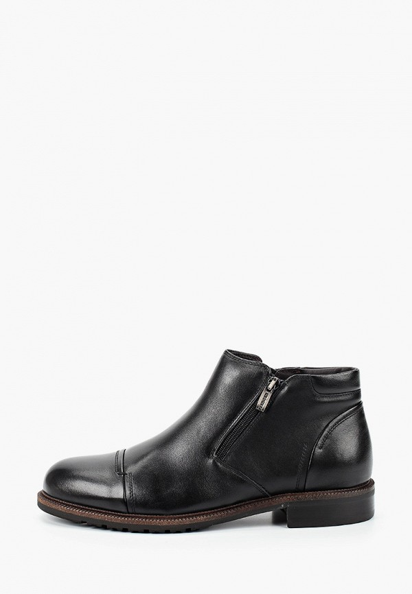 мужские ботинки zenden collection, черные