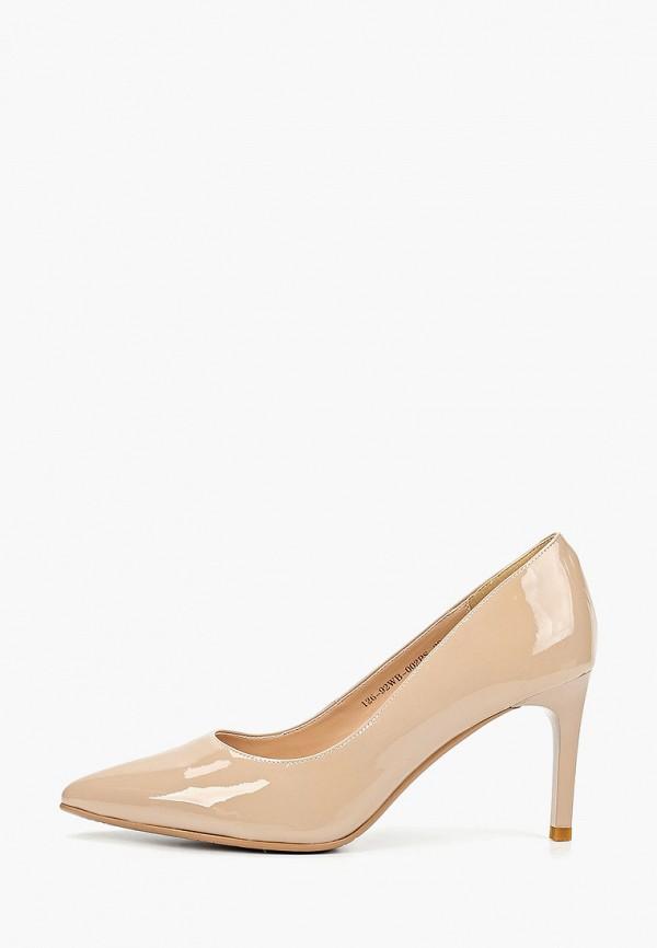 женские туфли zenden collection, бежевые