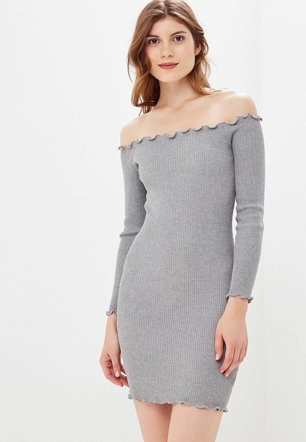 женское платье zeza, серое