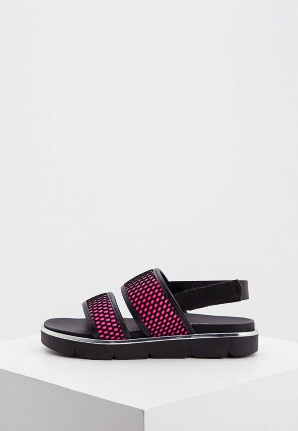женские сандалии zenux, черные