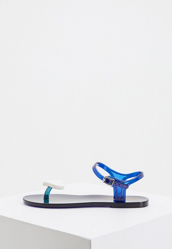 женские сандалии zenux, синие