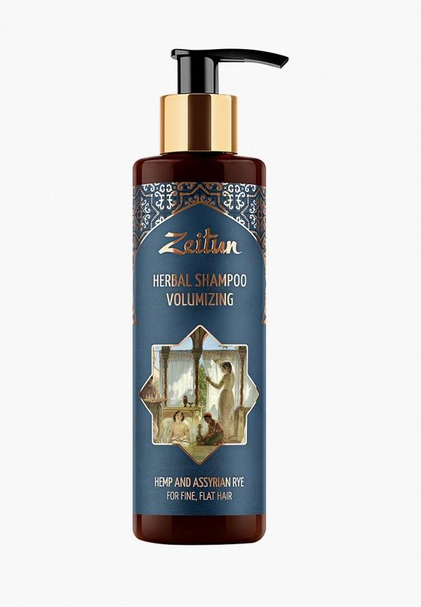Купить Шампунь Zeitun, для густоты и объема волос. С коноплей и ассирийской рожью, 200 мл, ze015lwbxyz7, прозрачный, Весна-лето 2019