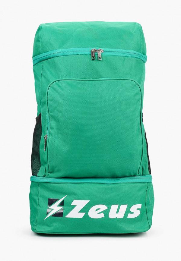 женский рюкзак zeus, зеленый