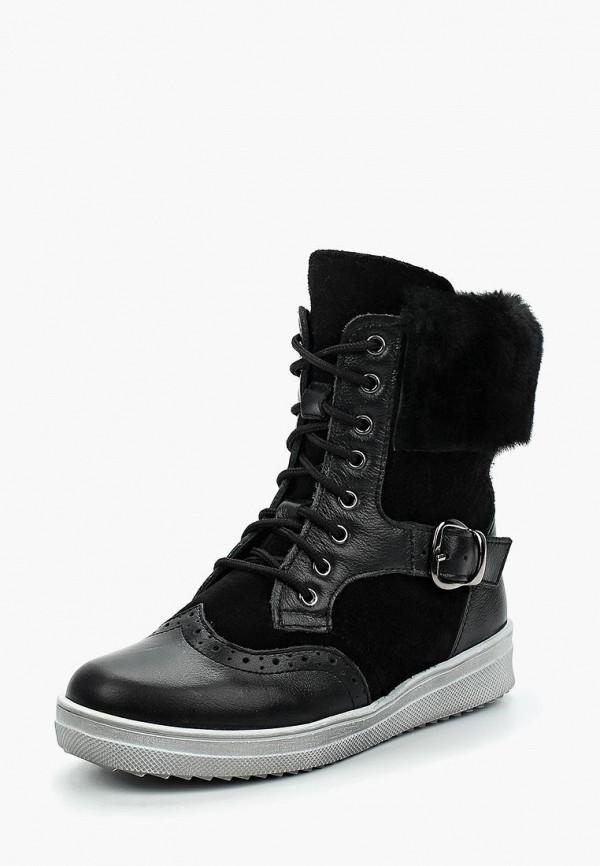 Купить Ботинки Зебра, ZE218ABUQX46, черный, Осень-зима 2017/2018