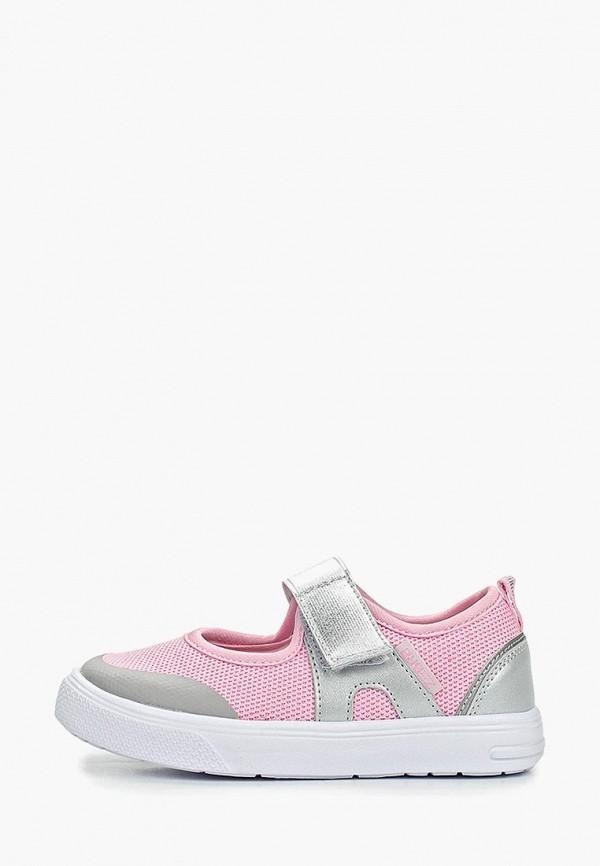 кеды зебра для девочки, розовые