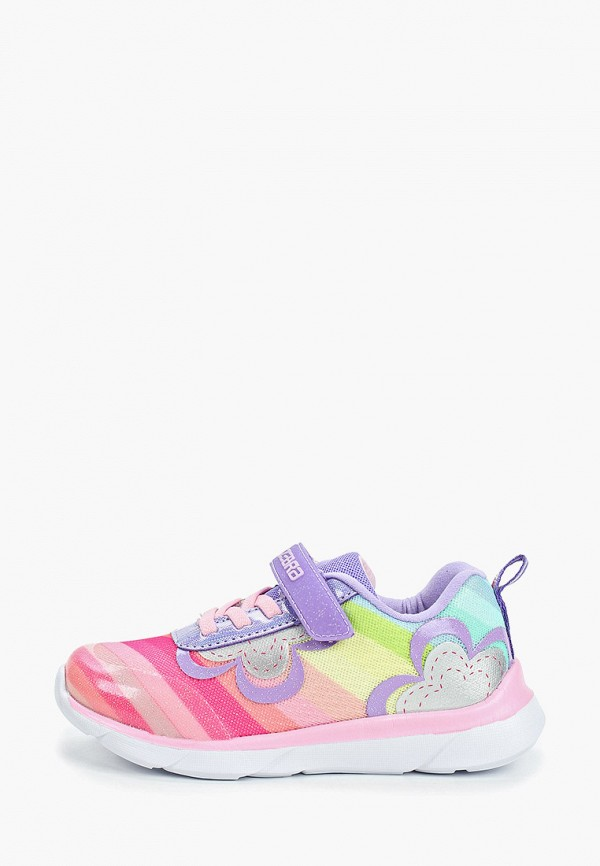 кроссовки зебра для девочки, разноцветные