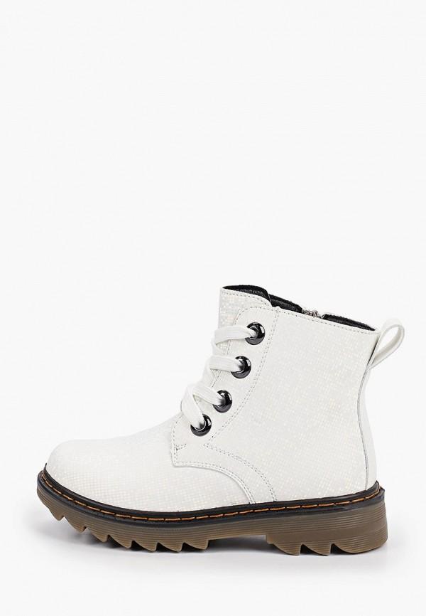 ботинки зебра для девочки, белые