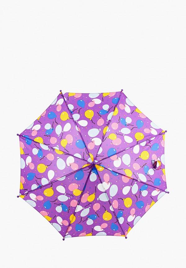 складные зонт zemsa для девочки, фиолетовый