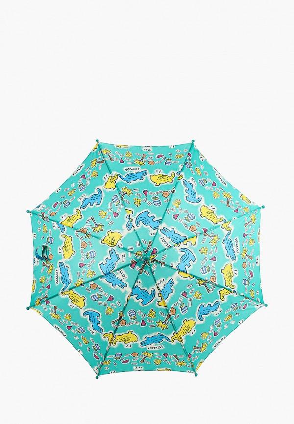 складные зонт zemsa малыши, бирюзовый