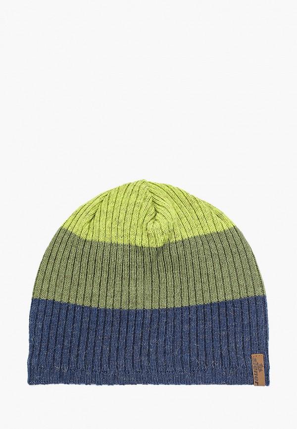 мужская шапка ziener, разноцветная