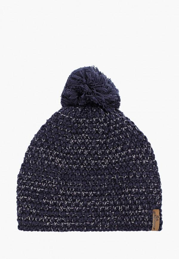 женская шапка ziener, синяя