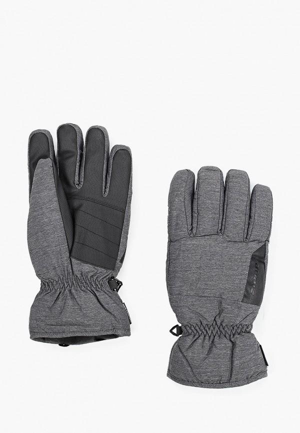 мужские перчатки ziener, серые