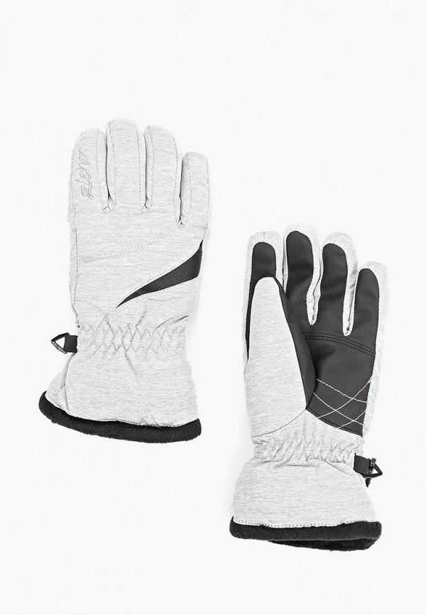 женские перчатки ziener, черные