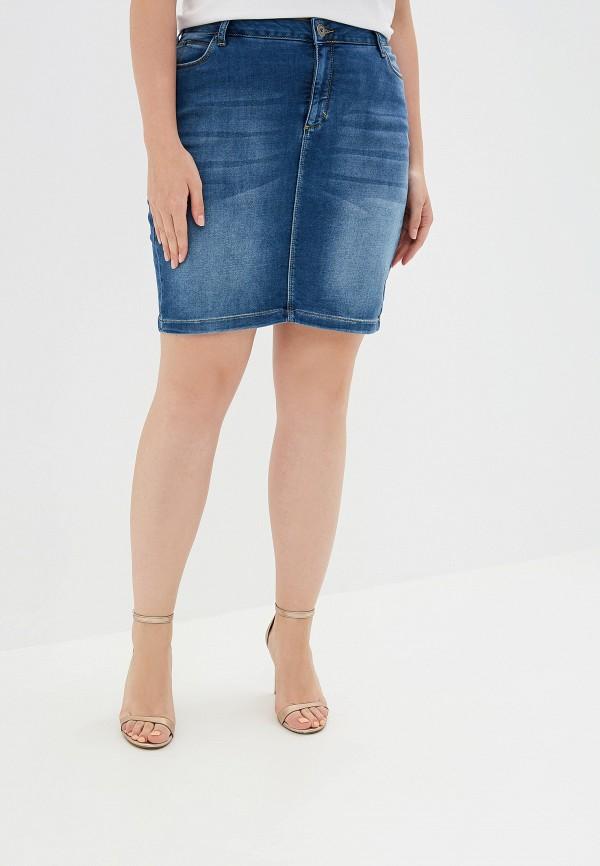 женская юбка zizzi, синяя