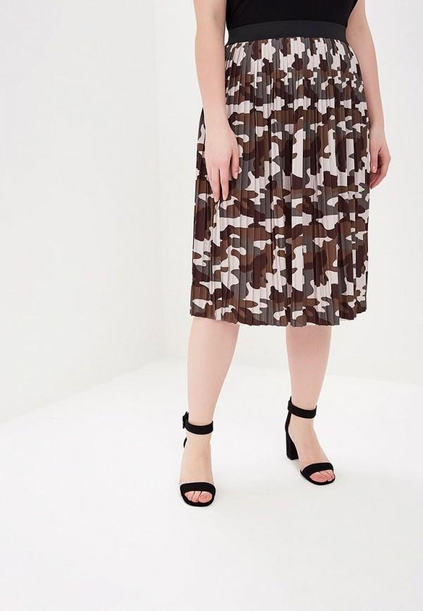 женская юбка zizzi, хаки