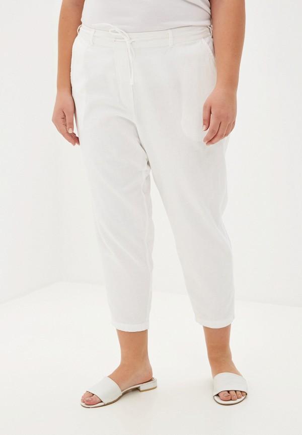 женские брюки zizzi, белые