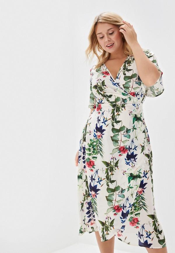 женское платье zizzi, бежевое