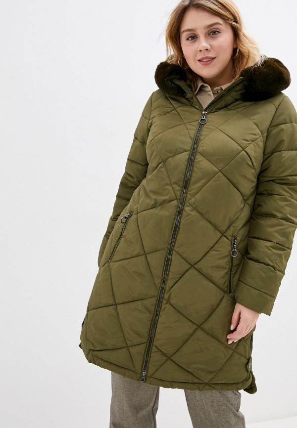 женская куртка zizzi, зеленая