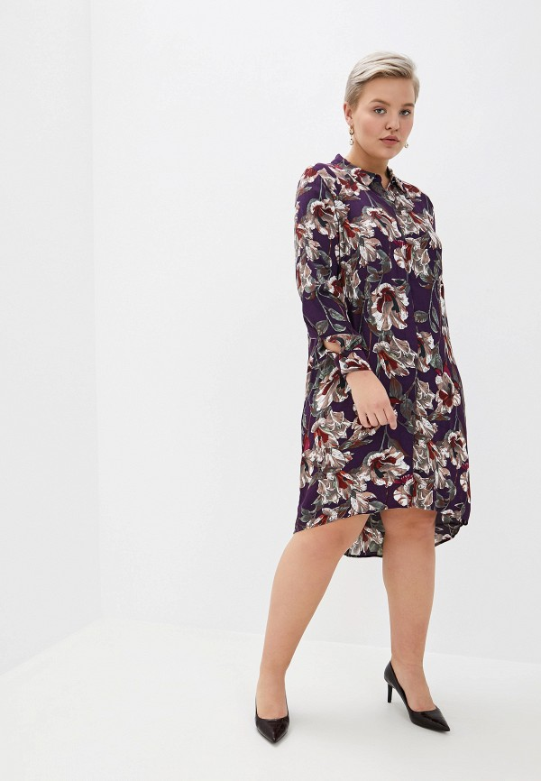 женское платье zizzi, фиолетовое