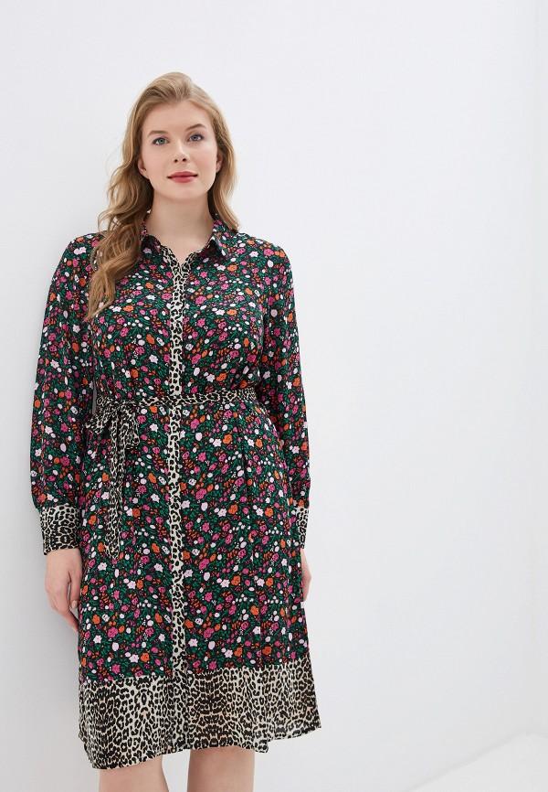 женское платье zizzi, разноцветное