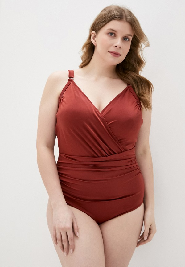 женский купальник zizzi, красный