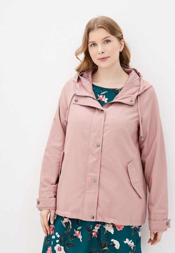 женская куртка zizzi, розовая