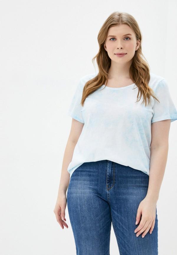 женская футболка zizzi, разноцветная