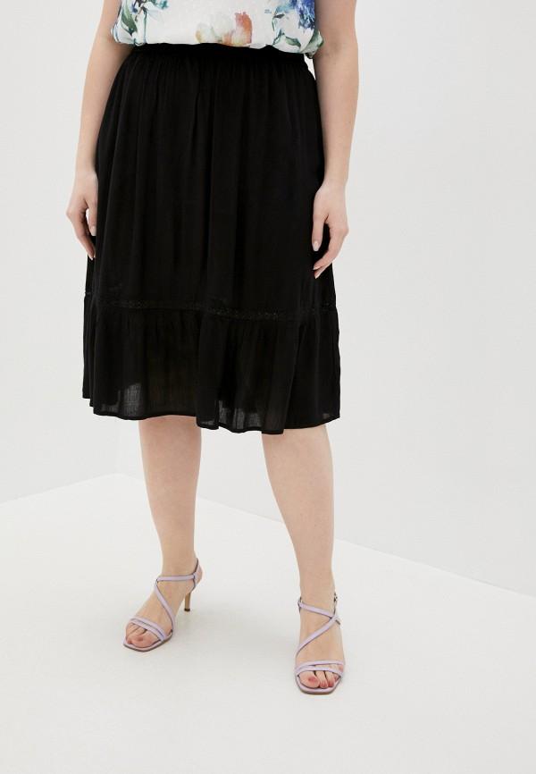 женская юбка zizzi, черная