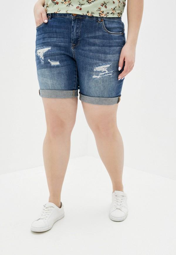женские джинсовые шорты zizzi, синие